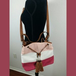 Kim Rogers NWT Shades of Pink Handbag